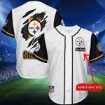 Pittsburgh Steelers Personalized Baseball Jersey Shirt 180
