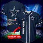 Dallas Cowboys Personalized Baseball Jersey Shirt 160