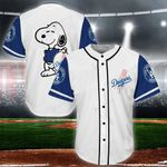 Snoopy-Los Angeles Dodgers Baseball Jersey 14