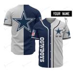 Dallas Cowboys Personalized Baseball Jersey 520