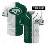 New York Jets Personalized Baseball Jersey 501