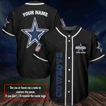 Dallas Cowboys Personalized Baseball Jersey Shirt 179