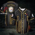 Pittsburgh Steelers Personalized Baseball Jersey 480
