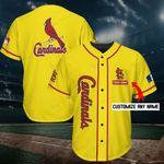 St. Louis Cardinals Personalized Baseball Jersey Shirt 222