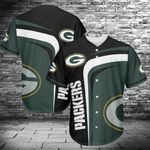 Green Bay Packers Baseball Jersey Shirt 421