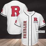 Rutgers Scarlet Knights Personalized Baseball Jersey Shirt 341