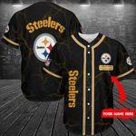 Pittsburgh Steelers Personalized Baseball Jersey Shirt 225