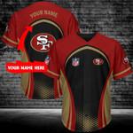 San Francisco 49ers Personalized Baseball Jersey 385