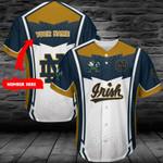 Notre Dame Fighting Irish Personalized Baseball Jersey 397