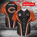 Chicago Bears Personalized Baseball Jersey 467