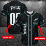 Philadelphia Eagles Personalized Baseball Jersey Shirt 202
