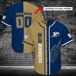 Winnipeg Blue Bombers Personalized Baseball Jersey Shirt 156