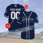 New York Yankees Personalized Baseball Jersey Shirt 136