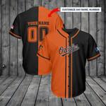 Baltimore Orioles Personalized Baseball Jersey Shirt 121