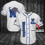 Memphis Tigers Personalized Baseball Jersey Shirt 81
