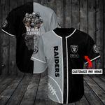 Las Vegas Raiders Personalized Baseball Jersey Shirt 97