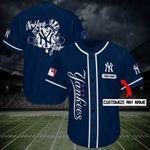 New York Yankees Personalized Baseball Jersey Shirt 157