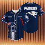 New England Patriots Personalized Baseball Jersey Shirt 43