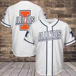 Illinois Fighting Illini Baseball Jersey 240