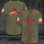 St. Louis Cardinals Baseball Jersey 320