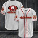 San Francisco 49ers Baseball Jersey Shirt 37