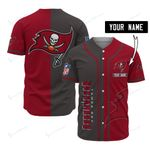 Tampa Bay Buccaneers Personalized Baseball Jersey 524