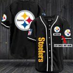 Pittsburgh Steelers Personalized Baseball Jersey Shirt 36