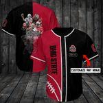 Ohio State Buckeyes Personalized Baseball Jersey Shirt 100