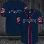 New England Patriots Personalized Baseball Jersey Shirt 42