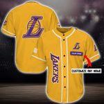 Los Angeles Lakers Personalized Baseball Jersey Shirt 58