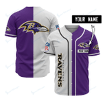 Baltimore Ravens Personalized Baseball Jersey 512