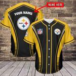 Pittsburgh Steelers Personalized Baseball Jersey 459