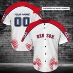Boston Red Sox Personalized Baseball Jersey Shirt 144