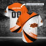 Oklahoma State Cowboys Personalized Baseball Jersey 257