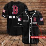 Boston Red Sox Personalized Baseball Jersey 313