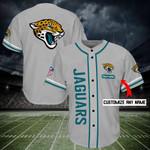 Jacksonville Jaguars Personalized Baseball Jersey Shirt 174