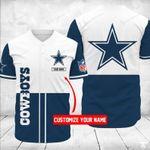 Dallas Cowboys Personalized Baseball Jersey Shirt 44