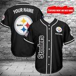 Pittsburgh Steelers Personalized Baseball Jersey Shirt 176