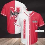 Nebraska Cornhuskers Personalized Baseball Jersey 353
