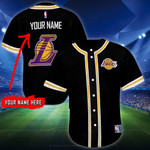 Los Angeles Lakers Personalized Baseball Jersey Shirt 91
