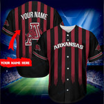Arkansas Razorbacks Personalized Baseball Jersey 273