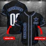 Dallas Cowboys Personalized Baseball Jersey Shirt 201