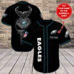 Philadelphia Eagles Personalized Baseball Jersey Shirt 101