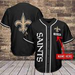 New Orleans Saints Personalized Baseball Jersey 479