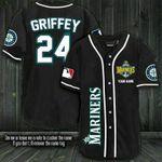 Ken Griffey Seattle Mariners Fanmade Personalized Baseball Jersey Shirt 177