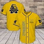 Michigan Wolverines Baseball Jersey 382