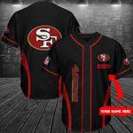 San Francisco 49ers Personalized Baseball Jersey Shirt 181