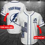 Tampa Bay Lightning Personalized Baseball Jersey Shirt 200