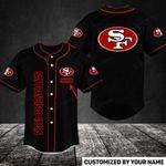 San Francisco 49ers Personalized Baseball Jersey Shirt 32