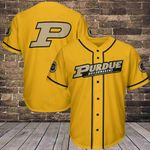 Purdue Boilermakers Baseball Jersey 259